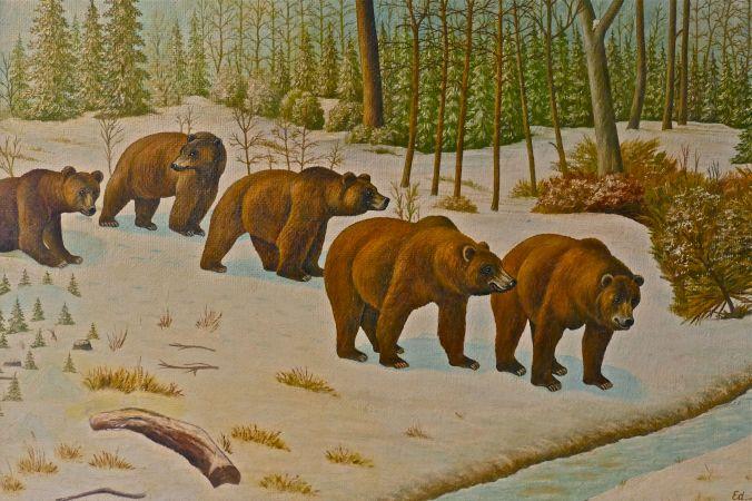 Fünf Bären
